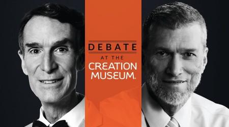 الخلق أم التطور؟ مناظرة بيل ناي Bill Nye  وكين هام Ken Ham (كاملة)