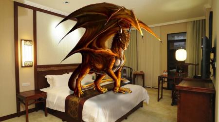 تنين في غرفتي