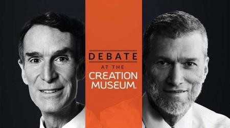 مناظرة بين بيل ناي وكين هام: الخلق أم التطور